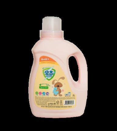Кондиционер для стирки детского белья Oats baby fabric softener 2 л