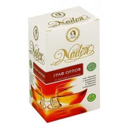 Чай черный Nadin граф Орлов 25 пакетиков