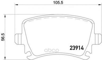 Тормозные колодки дисковые Textar 2391401