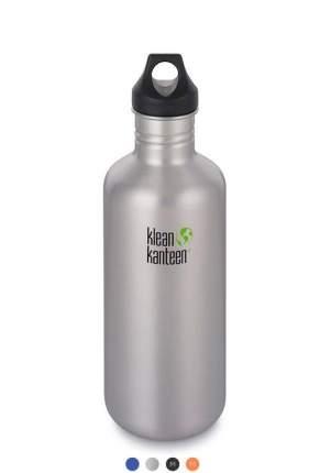 Бутылка Klean Kanteen Classic Loop 1182 мл brushed stainless