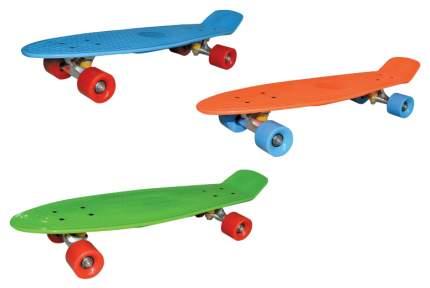 Детский скейтборд Navigator Т59502 Голубой, оранжевый, зеленый