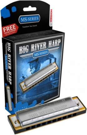 HOHNER Big river harp 590/20 A Губная гармоника диатоническая