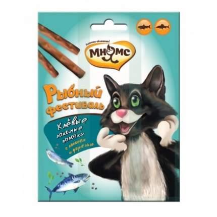 Лакомство для кошек Мнямс лосось, форель 0.012кг