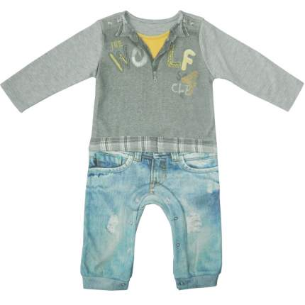 Комбинезон Папитто для мальчика Fashion Jeans 554-01 р.24-86