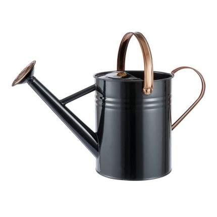 Лейка садовая Gardman металлическая 4,5 л черная
