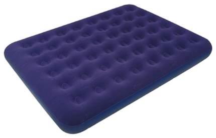 Надувная кровать RELAX FLOCKED AIR BED KING 203x183x22 синий
