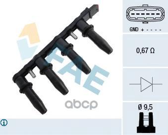 Катушка зажигания FAE 80291