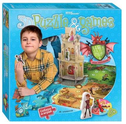 Напольная игра-бродилка с 3D-полем Замок драконов