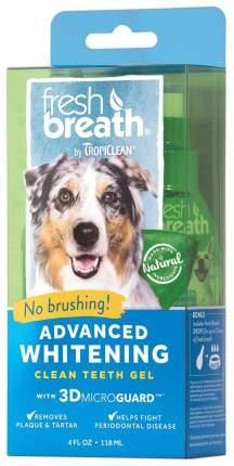 Зубной гель для собак TropiClean Свежее дыхание, мята, 118 мл