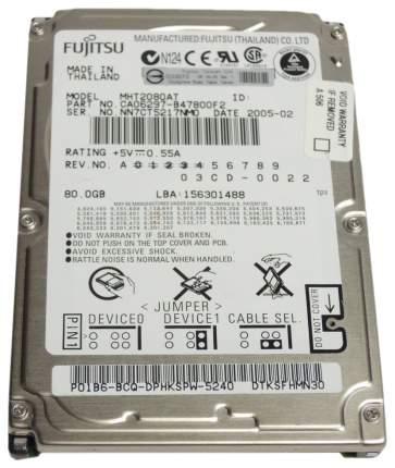 Внутренний жесткий диск Fujitsu 80GB (MHT2080AT)