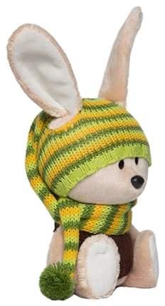 Мягкая игрушка Budi Basa Заяц Антоша в шапочке и свитере 15 см