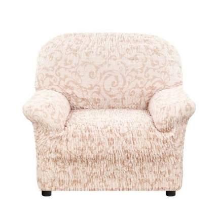 Чехол на кресло Еврочехол Сиена Джоя беж