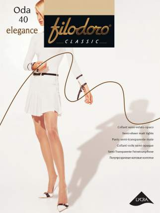 Колготки Filodoro Classic ODA 40 ELEGANCE/Playa/4 (L)