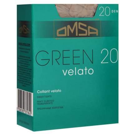Колготки Omsa GREEN 20 /  Caramello  (Телесный) / 4 (L)