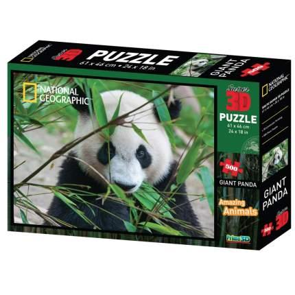 PRIME 3D Пазл Super 3D «Большая панда», 500 детал., 6+ 30*20*5 см 10071SBM