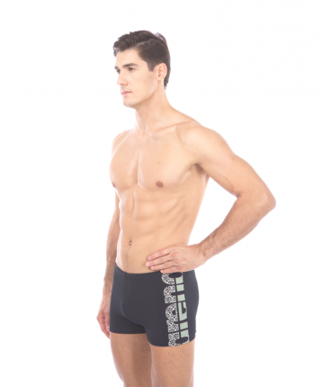 Шорты для плавания мужские Arena Equilibrium Short, black/white, 110 FR