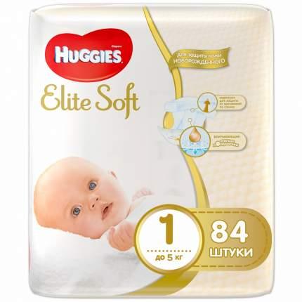 Подгузники для новорожденных HUGGIES Elite Soft 1 до 5 кг 84 шт