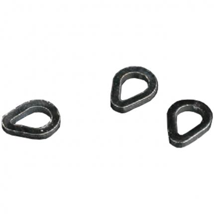 Заводное кольцо Mikado каплевидное AMC-9052 4 мм