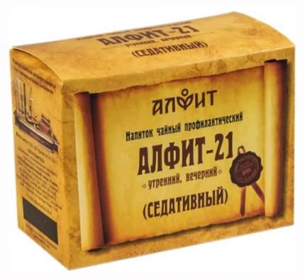 Чайный напиток Алфит-21 седативный 60 брикетов х 2 г