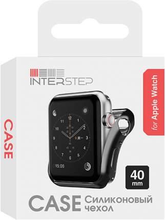 Чехол InterStep для Apple Watch 40mm Black (HWE-AWC40MSL-NP0001O-K100)