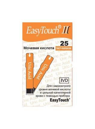 Тест-полоски EasyTouch на мочевую кислоту 25 шт.