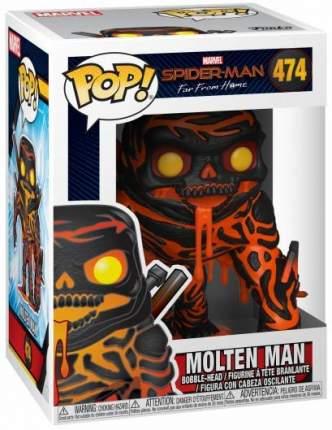 Фигурка-головотряс Funko POP! Bobble Marvel: Spiderman: Molten Man