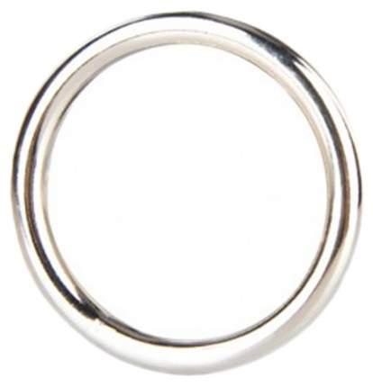 Эрекционное кольцо BlueLine Steel Cock Ring стальное 4.5 см
