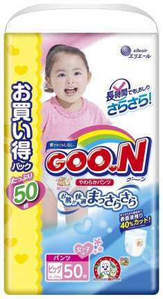 Подгузники-трусики Goon Ultra Jumbo Pack XL 12-20 кг 50 шт для девочек