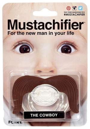Соска-пустышка Mustachifier Ковбой
