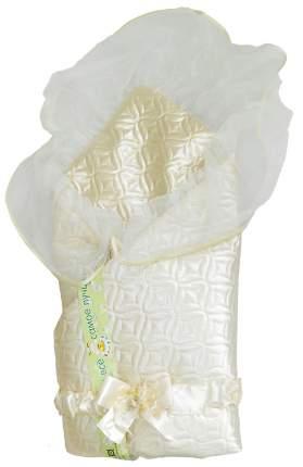 Одеяло на выписку L'Abeille Мила 6403 бежевый