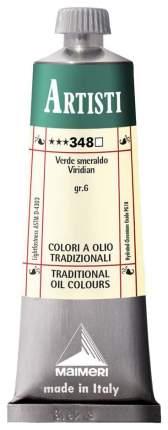 Масляная краска Maimeri Artisti виридоновая 40 мл