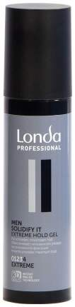 Гель для укладки Londa Professional Men Solidify It Extreme Hold 100 мл