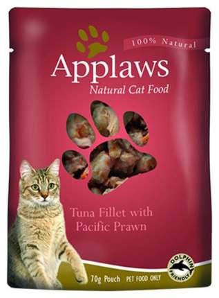 Влажный корм для кошек Applaws, тунец с королевскими креветками, 70г