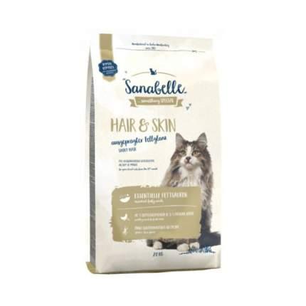 Сухой корм для кошек Bosch Sanabelle Hair & Skin, домашняя птица, 2кг