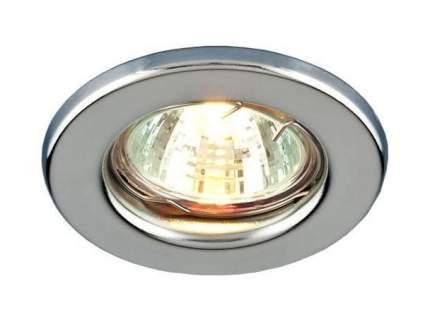 Встраиваемый светильник Elektrostandard Teleron 9210 MR16 SCH