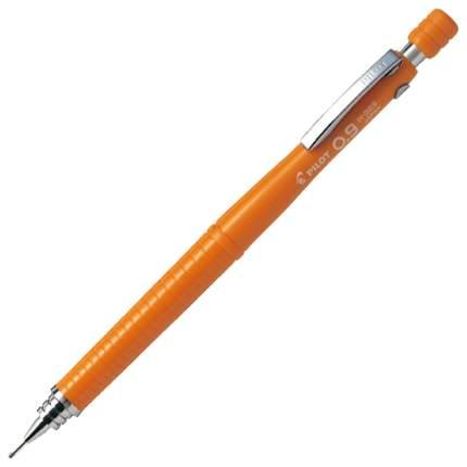 Карандаш автоматический, профессиональный, оранжевый, 0,9 мм