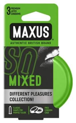 Презервативы Maxus Mixed  в железном кейсе набор 3 шт.