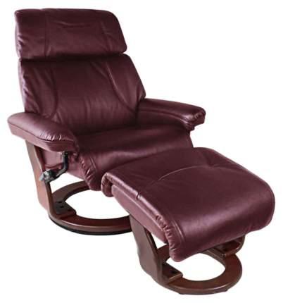 Кресло для гостиной Relax 104х89х104 см, красный/красный