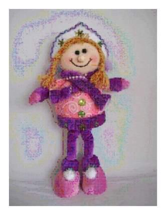 Мягкая игрушка Snowmen Новогодняя на елку 31 см Е91277