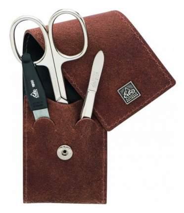Маникюрный набор Erbe Solingen 3 предмета, коричневый