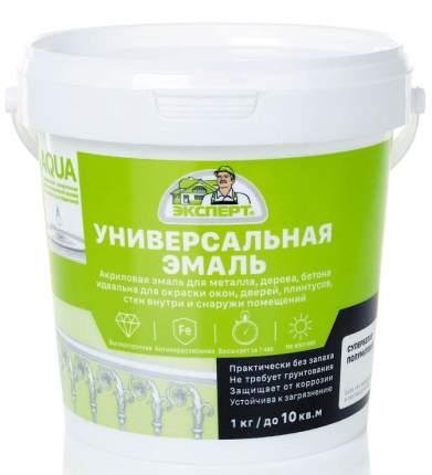 Эмаль ЭКСПЕРТ акриловая полуматовая База А  2,5кг