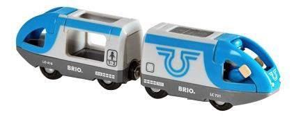 Пассажирский поезд экспресс с машинистом деревянной железной дороги Brio 33506