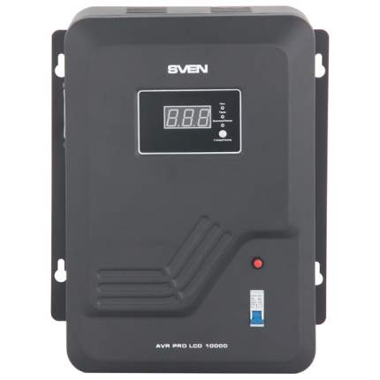 Однофазный стабилизатор Sven AVR PRO LCD 10000 20100144