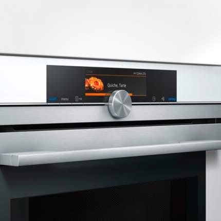 Встраиваемый электрический духовой шкаф Siemens CM678G4W1 White
