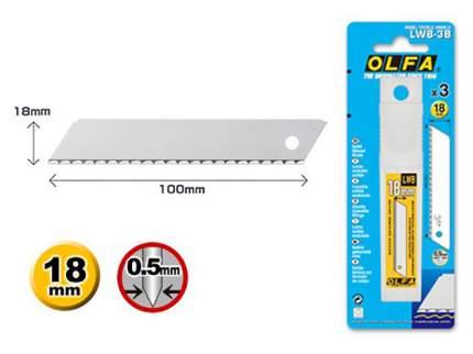 Сменное лезвие для строительного ножа OLFA OL-LWB-3B