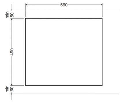 Встраиваемая варочная панель индукционная Hansa BHI68308 Black