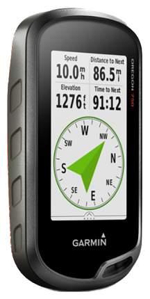 Туристический навигатор Garmin Oregon 750T + карты Топо черный