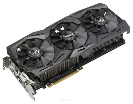 Видеокарта ASUS ROG Strix Radeon RX 580 (ROG-STRIX-RX580-O8G-GAMING)