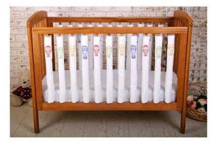 Текстильный бортик для кроватки Cloud factory Beauty Balloons, 12 шт CF-1-BB