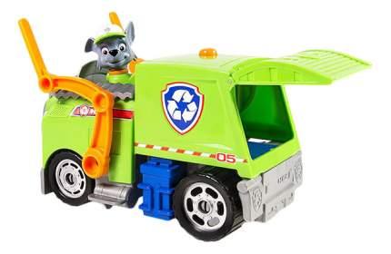 Игровой набор Щенячий патруль PAW Patrol Машина-трансформер со звуком и светом зеленая